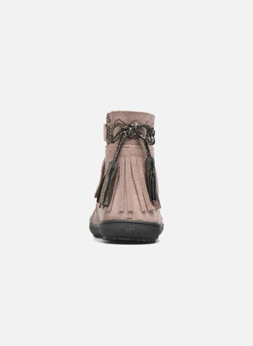 Ankle boots Bopy Negrila Lilybellule Beige view from the right