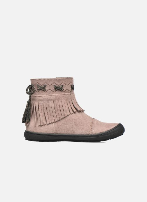 Ankle boots Bopy Negrila Lilybellule Beige back view