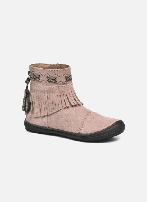 Ankle boots Bopy Negrila Lilybellule Beige detailed view/ Pair view
