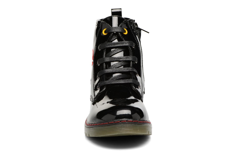 Boots en enkellaarsjes Bopy Ninouche lillybellule Zwart model