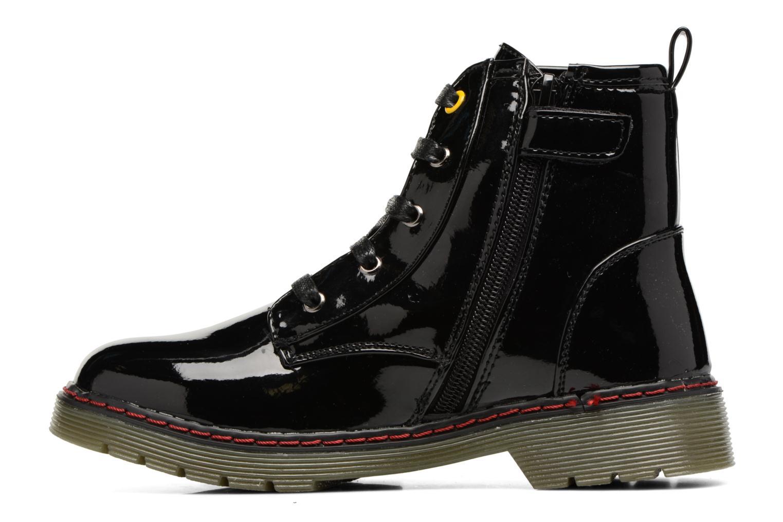 Boots en enkellaarsjes Bopy Ninouche lillybellule Zwart voorkant