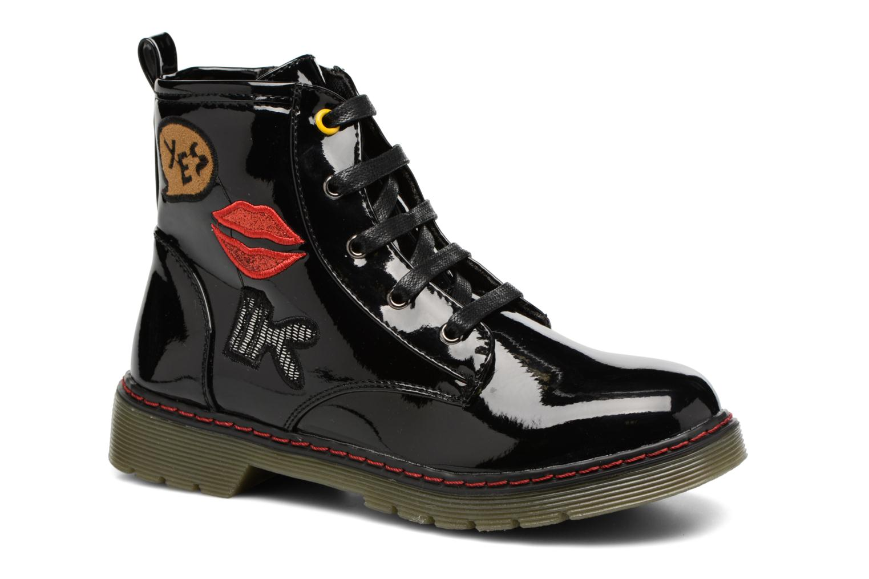 Boots en enkellaarsjes Bopy Ninouche lillybellule Zwart detail