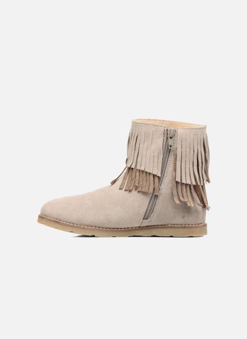 Boots en enkellaarsjes Bopy Harissa Beige voorkant