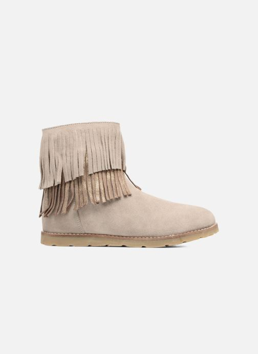 Ankle boots Bopy Harissa Beige back view