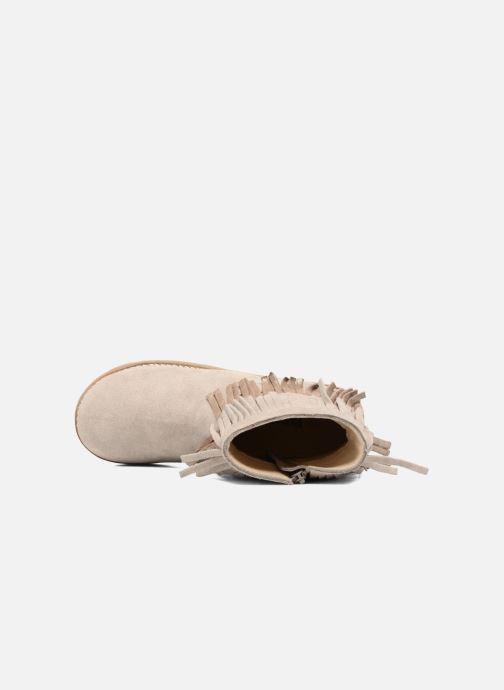 Boots en enkellaarsjes Bopy Harissa Beige links