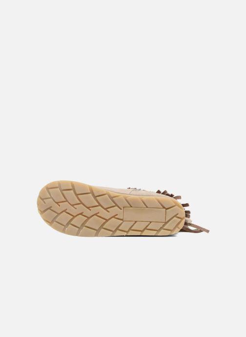 Bottines et boots Bopy Harissa Beige vue haut