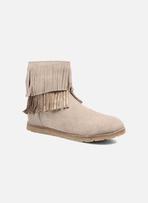 Bottines et boots Bopy Harissa Beige vue détail/paire