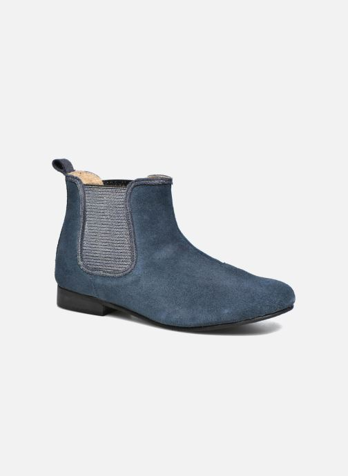 Ankle boots Bopy Hifram Blue detailed view/ Pair view