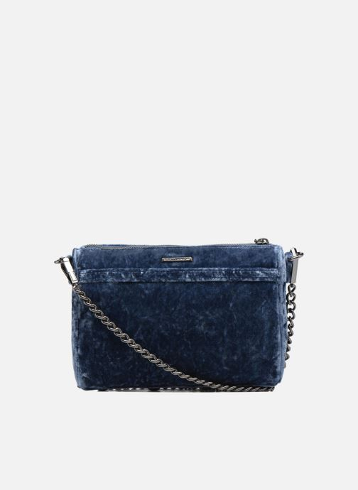 Handbags Rebecca Minkoff Mini Mac Velvet Blue front view