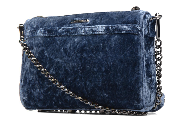 Rebecca 400U Mac Velvet Mini BLUE Minkoff 6WTvrg86