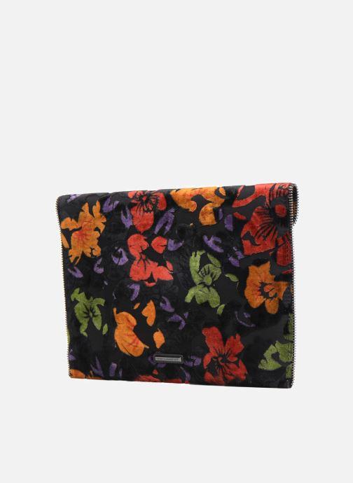 Leo Chez 301047 Floral Minkoff Rebecca Clutch multicolore Velvet Borse z6OOaq