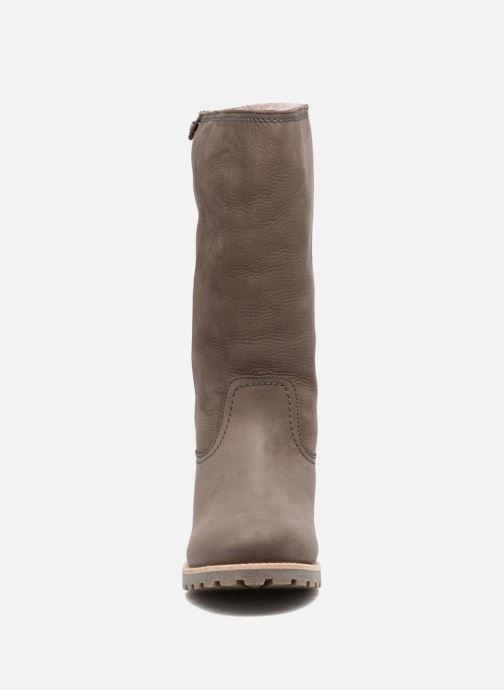 Bottes Panama Jack Bambina Igloo Gris vue portées chaussures