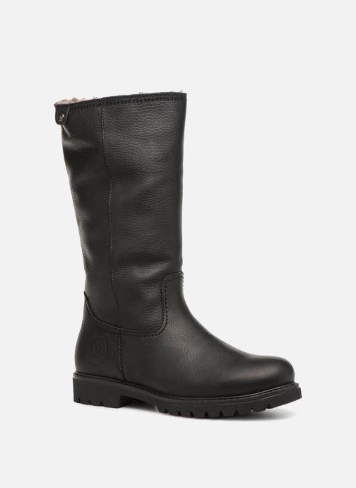 367b0c8d0621e3 Boots   wellies Panama Jack Bambina Igloo Black detailed view  Pair view