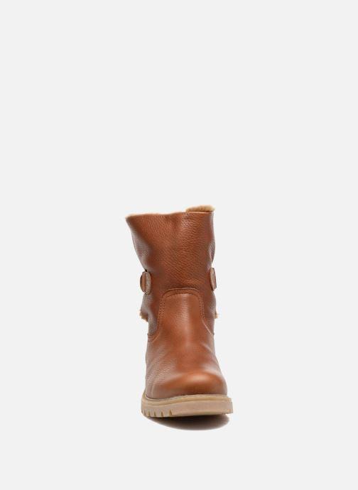 Bottines et boots Panama Jack Felia Marron vue portées chaussures