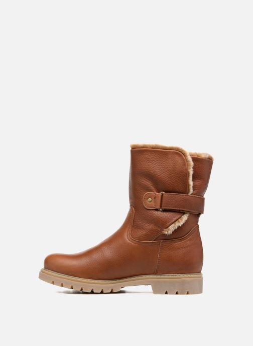 Bottines et boots Panama Jack Felia Marron vue face