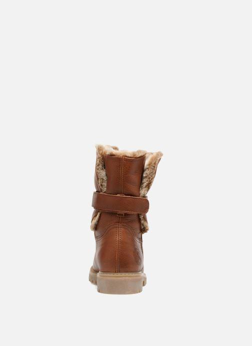 Bottines et boots Panama Jack Felia Marron vue droite