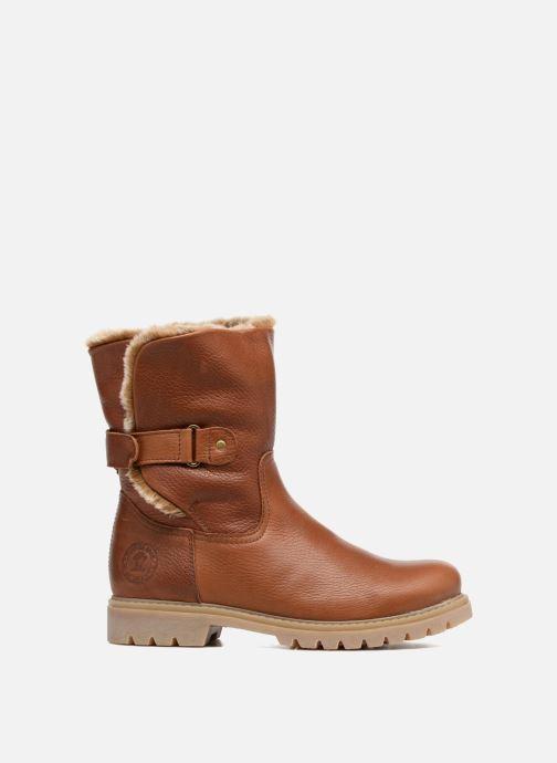 Boots en enkellaarsjes Panama Jack Felia Bruin achterkant