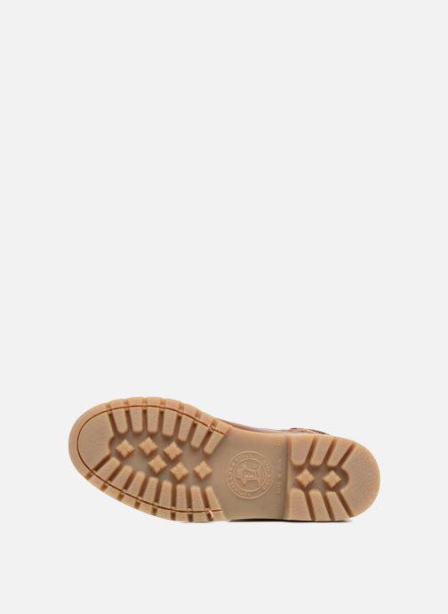 Bottines et boots Panama Jack Felia Marron vue haut