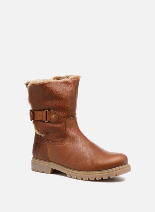 Boots en enkellaarsjes Panama Jack Felia Bruin detail
