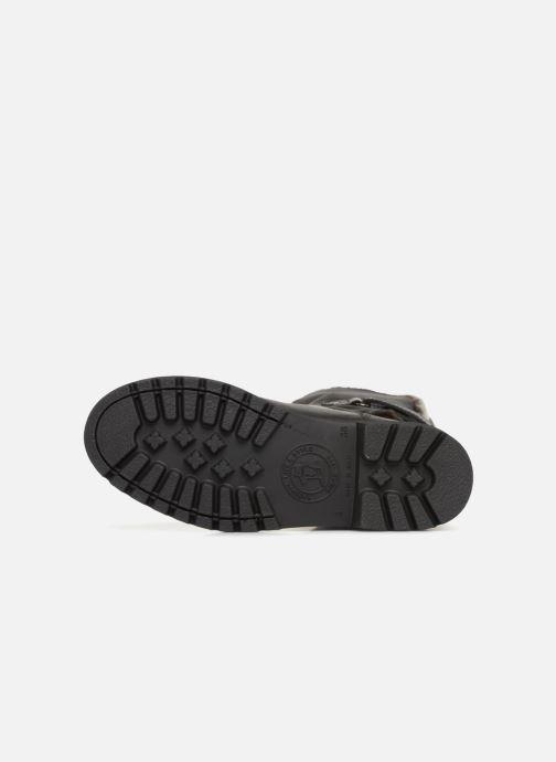 Bottines et boots Panama Jack Felia Noir vue haut