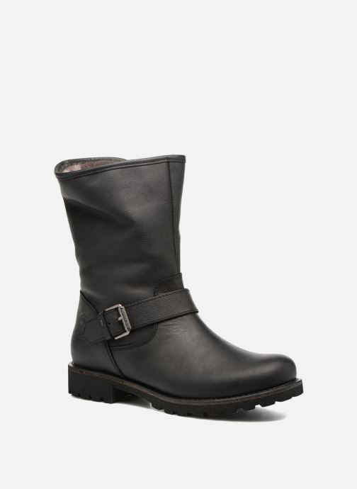 eb537a7f2c85f4 Panama Jack Singapur Igloo (Black) - Ankle boots chez Sarenza (301062)