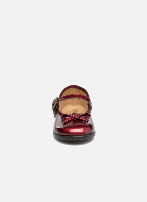 Ballet pumps Osito by Conguitos Lola Burgundy model view