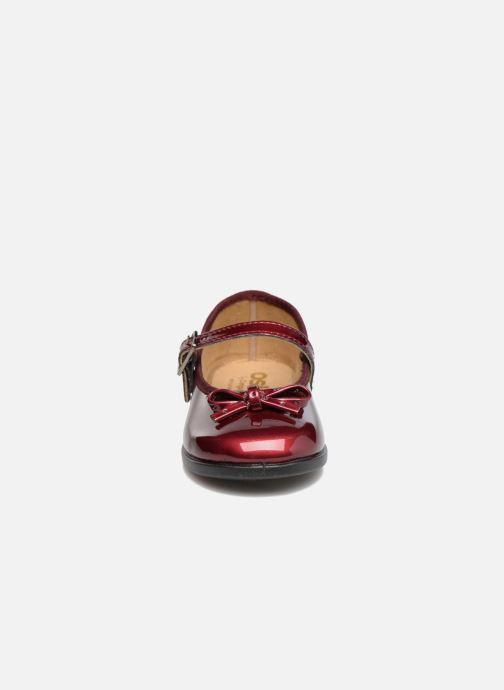 Ballerines Osito by Conguitos Lola Bordeaux vue portées chaussures