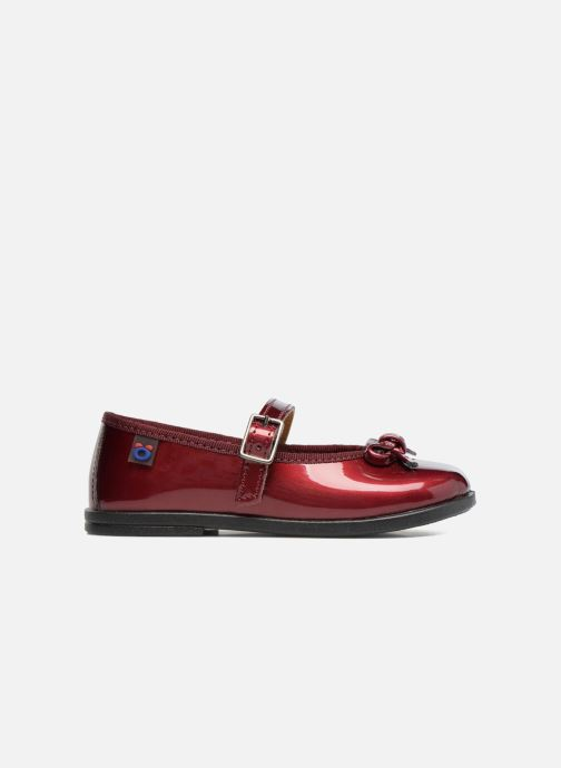Ballet pumps Osito by Conguitos Lola Burgundy back view