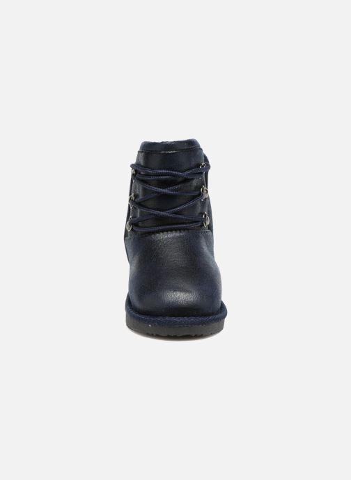 Bottes Osito by Conguitos Ilo Bleu vue portées chaussures