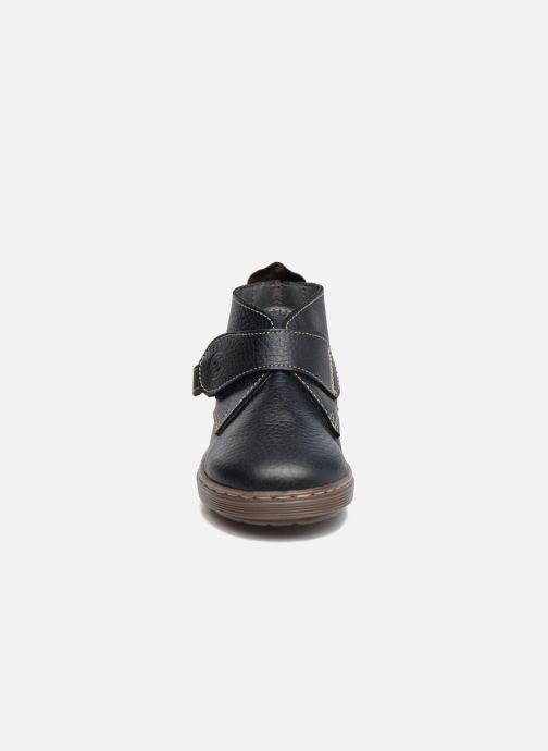 Chaussures à scratch Osito by Conguitos Nino Bleu vue portées chaussures
