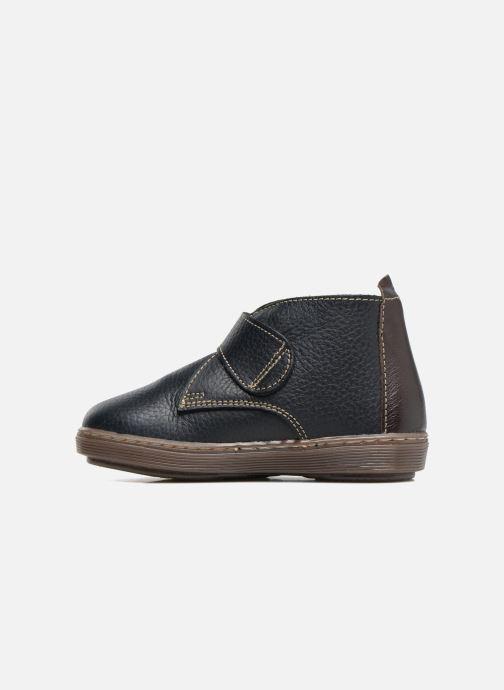Zapatos con velcro Osito by Conguitos Nino Azul vista de frente
