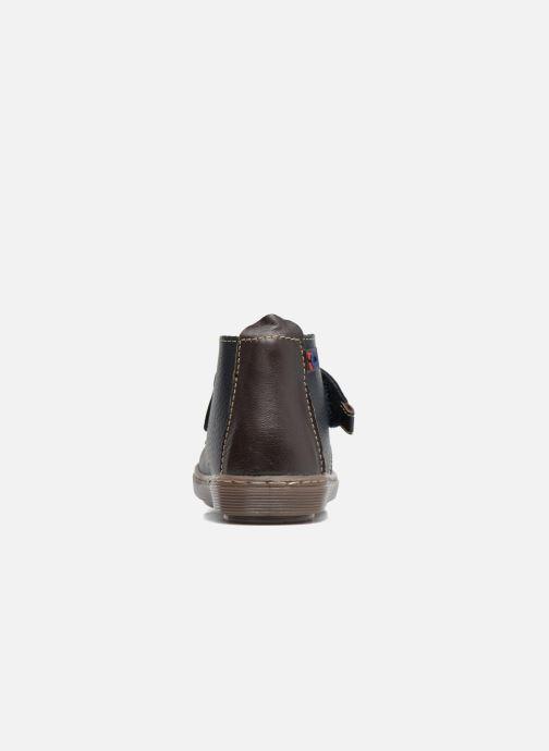Zapatos con velcro Osito by Conguitos Nino Azul vista lateral derecha
