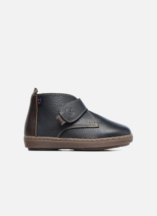 Zapatos con velcro Osito by Conguitos Nino Azul vistra trasera
