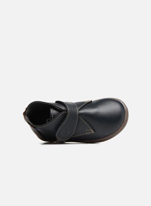 Chaussures à scratch Osito by Conguitos Nino Bleu vue gauche