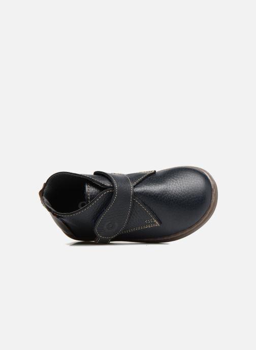 Zapatos con velcro Osito by Conguitos Nino Azul vista lateral izquierda