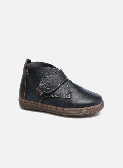 Chaussures à scratch Osito by Conguitos Nino Bleu vue détail/paire