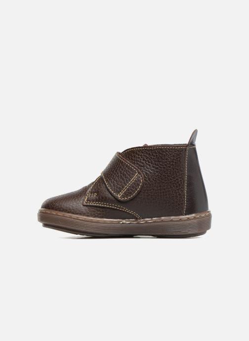 Zapatos con velcro Osito by Conguitos Nino Marrón vista de frente