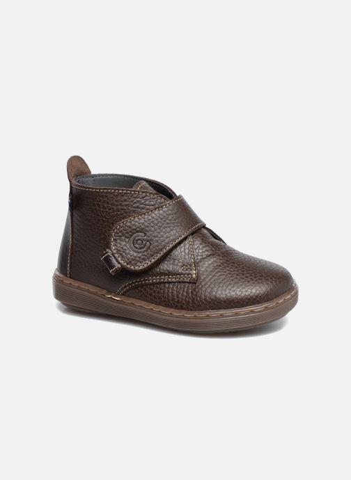 Chaussures à scratch Osito by Conguitos Nino Marron vue détail/paire
