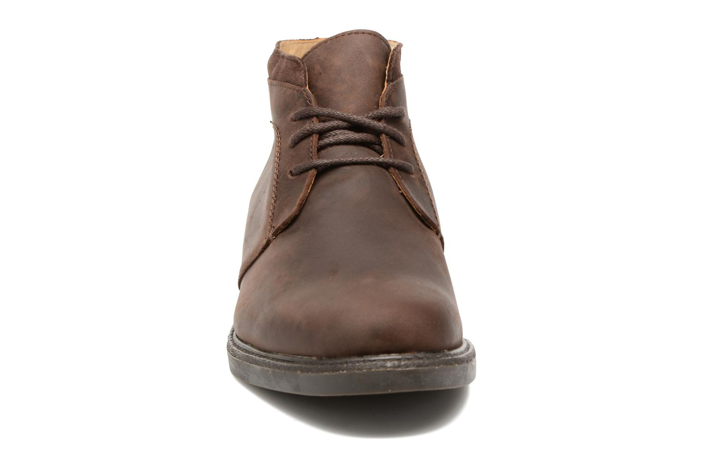 Bottines et boots Sebago Turner Chukka Waterproof Marron vue portées chaussures
