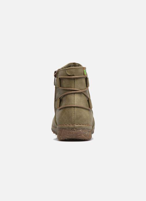 Boots en enkellaarsjes El Naturalista Angkor N917 Groen rechts