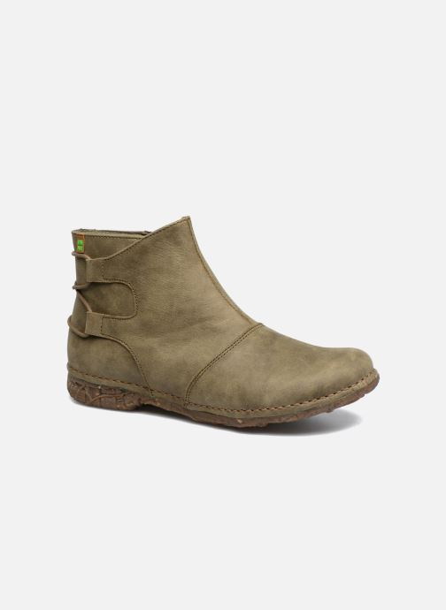 Ankle boots El Naturalista Angkor N917 Green detailed view/ Pair view