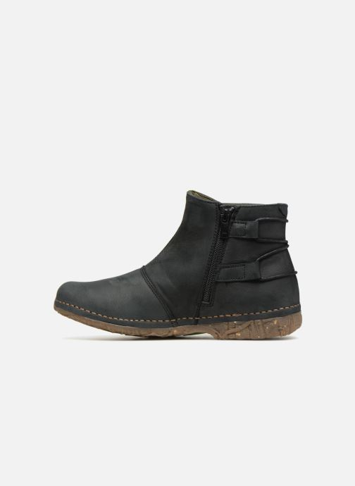 Ankle boots El Naturalista Angkor N917 Black front view