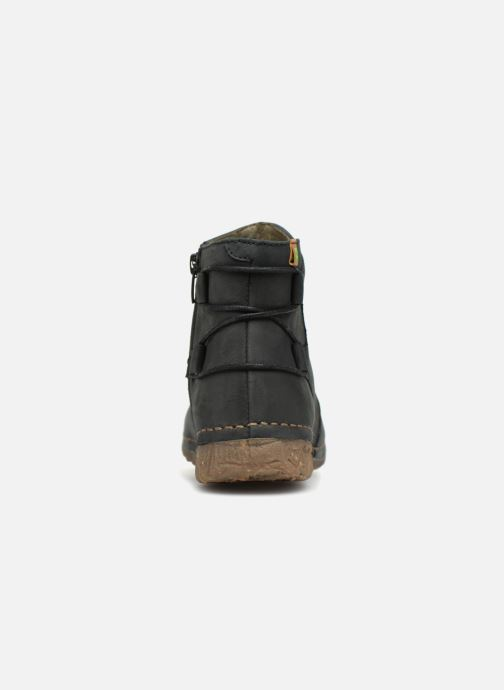 Ankle boots El Naturalista Angkor N917 Black view from the right