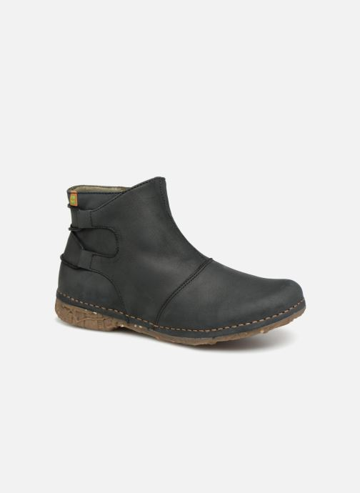 Ankle boots El Naturalista Angkor N917 Black detailed view/ Pair view