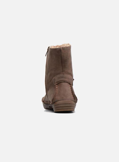 Boots en enkellaarsjes El Naturalista Rice Field N5043 Grijs rechts