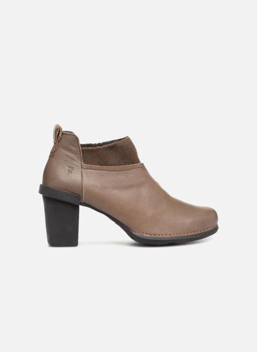 Stiefeletten & Boots El Naturalista Nectar N5140 grau ansicht von hinten