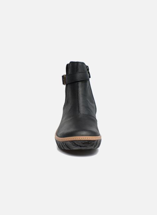 Ankle boots El Naturalista Myth Yggdrasil N5133 Black model view
