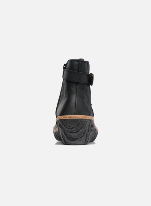 Ankle boots El Naturalista Myth Yggdrasil N5133 Black view from the right