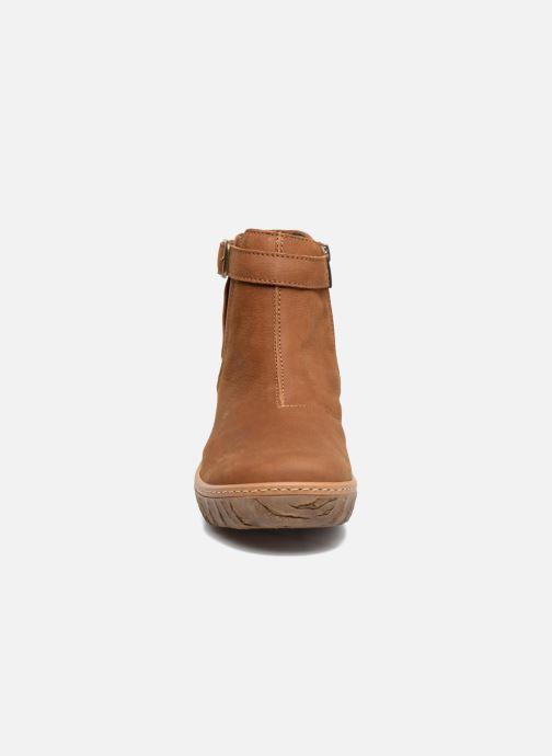Bottines et boots El Naturalista Myth Yggdrasil N5133 Marron vue portées chaussures