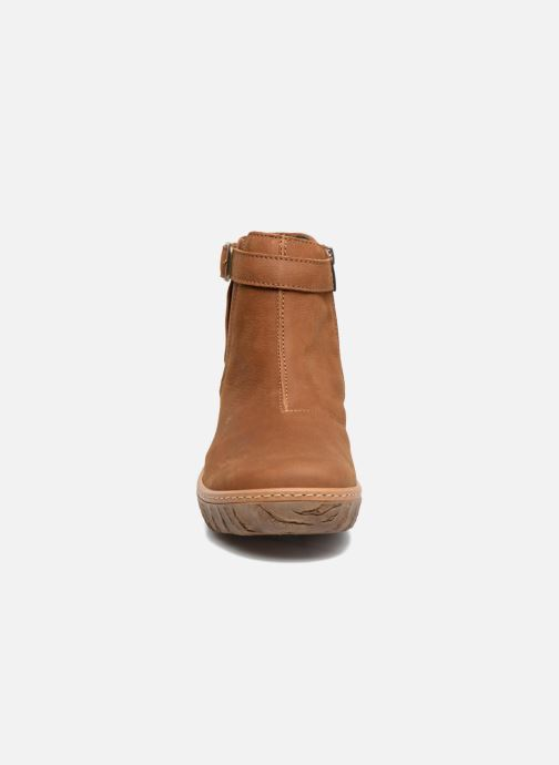 Ankle boots El Naturalista Myth Yggdrasil N5133 Brown model view